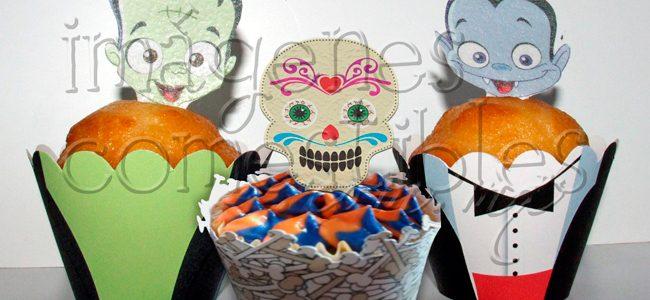 Wrappers para Cupcakes con imagen comestible