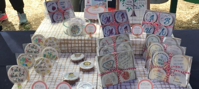 Imágenes Comestibles en la 2a Expo Mujeres Poderosas (video)