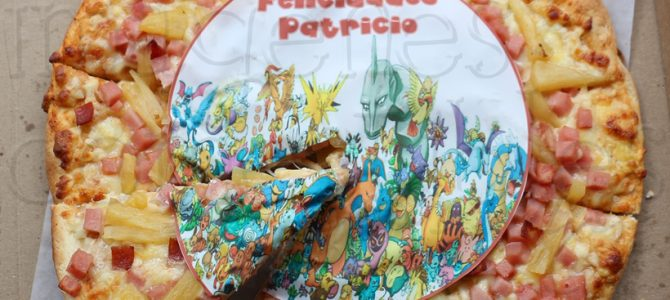 Pizzas con Imágenes Comestibles
