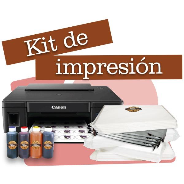 Kit de Impresión Comestible