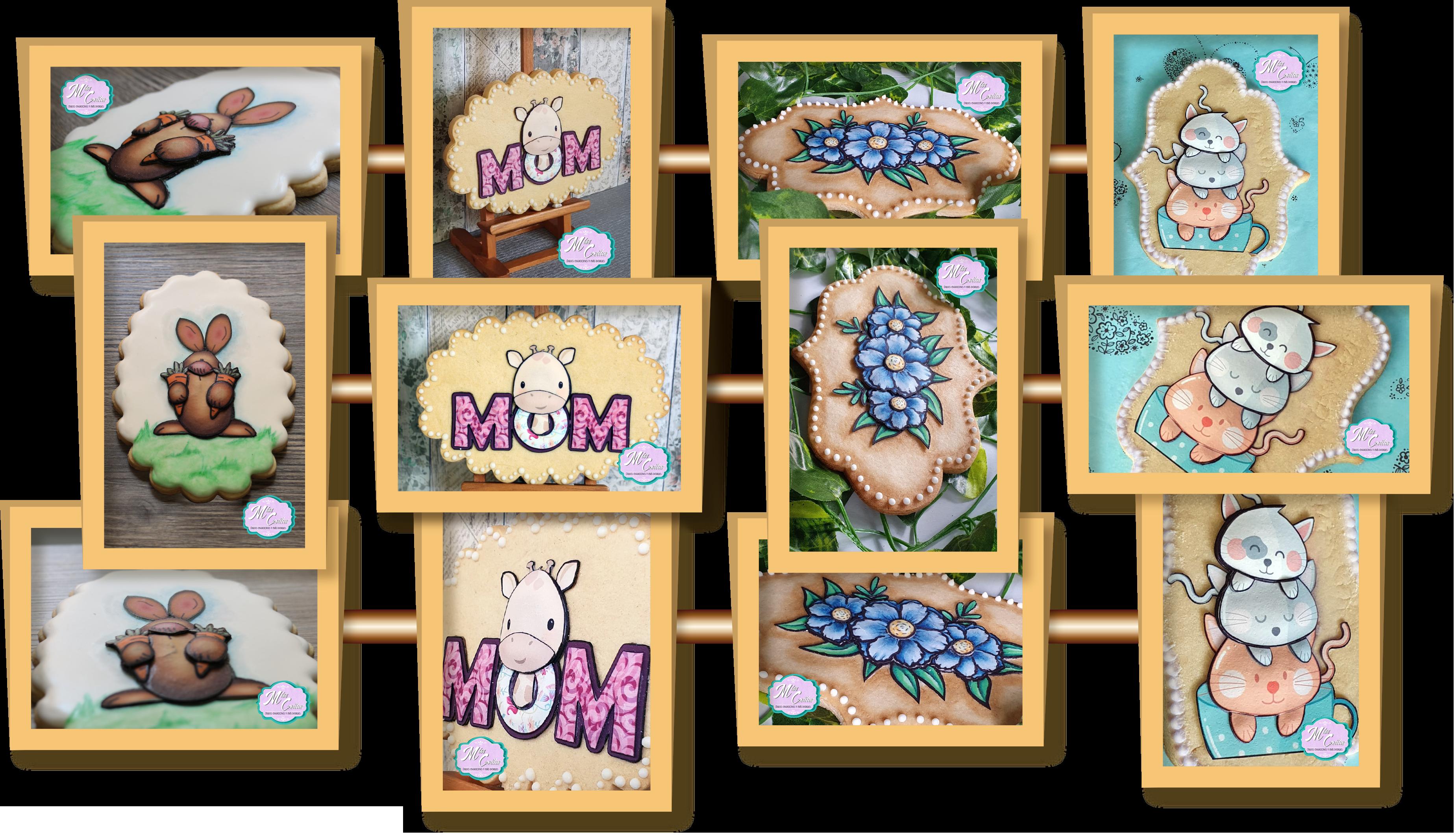 Hojas de azúcar para decoración de galletas