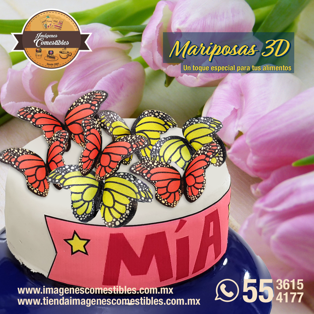 Promoción mariposas comestibles