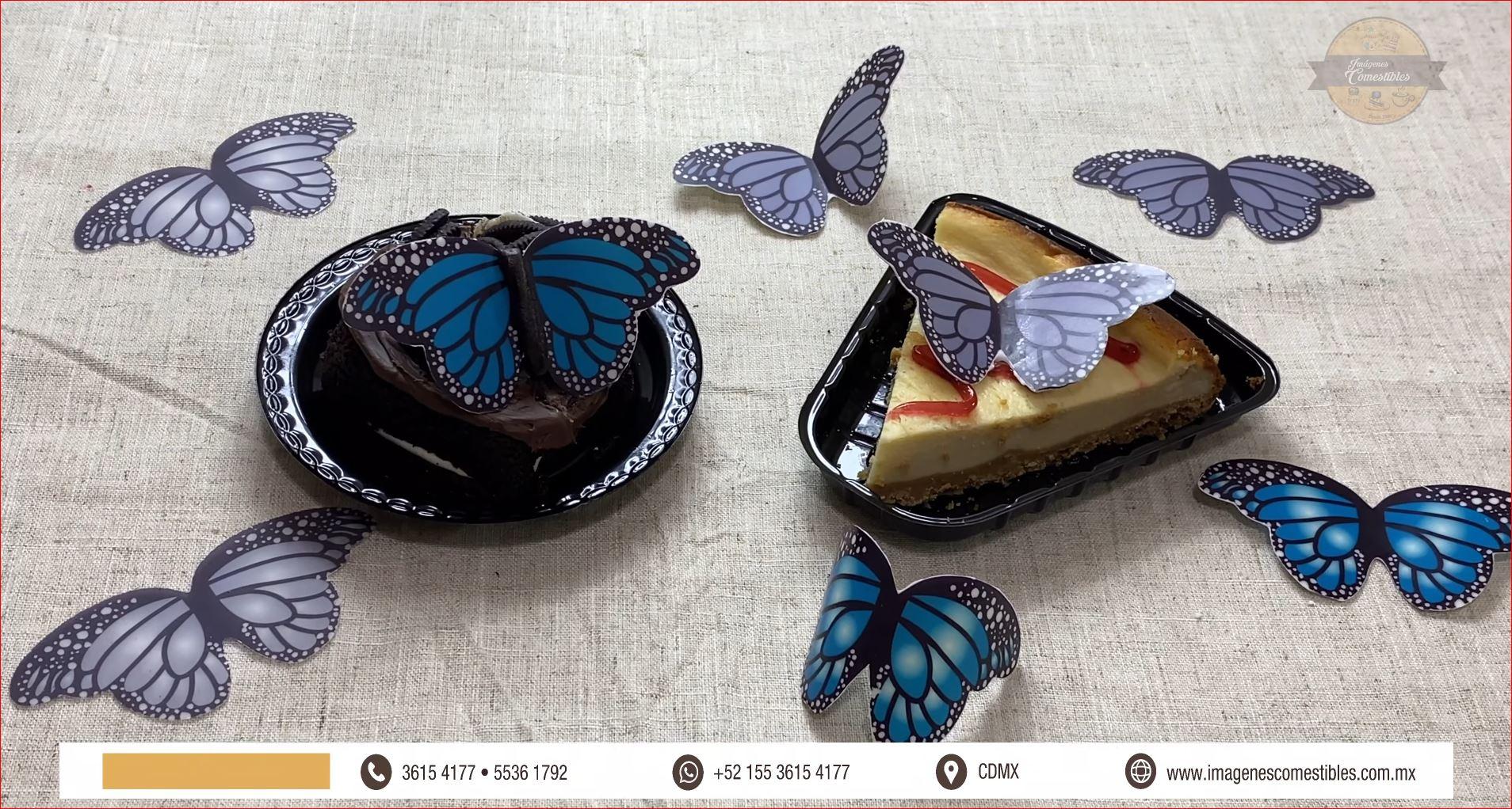 Aprende a elaborar Mariposas de chocolate